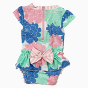 back of flower swimwear: Baby Girl Clothes