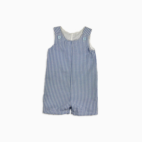 Baby Girl Clothes: gingham romper full shot