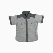 Baby Girl Clothes: full view of grey shirt