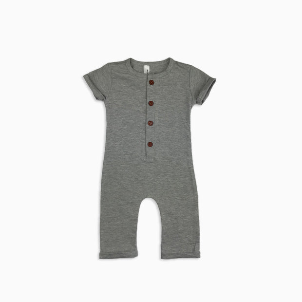 Baby Girl Clothes: grey baby boy romper