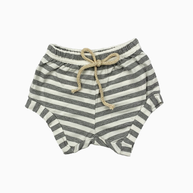 grey and white shorts: Baby Girl Clothes