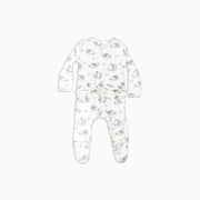 Baby Girl Clothes: white organic pajamas