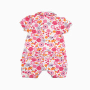 Baby Girl Clothes: back view of romper
