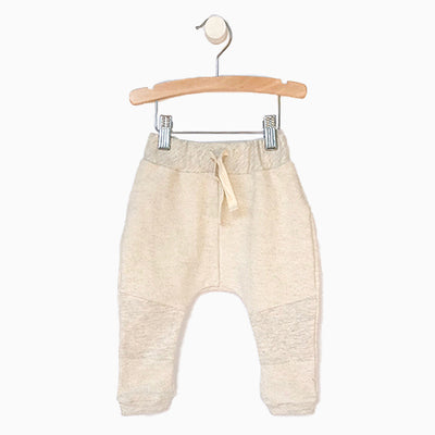 Baby Girl Clothes: grey joggers with strings