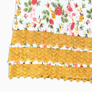 Baby Girl Clothes: close up on mustard layering
