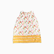 Baby Girl Clothes: flat view of mustard dress