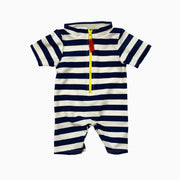 navy and white stripe: Baby Girl Clothes