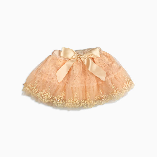 Baby Girl Clothes: pink pearl skirt