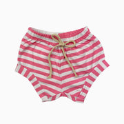 pink and white girl shorts: Baby Girl Clothes