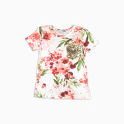 Baby Girl Clothes: floral sparkle shirt