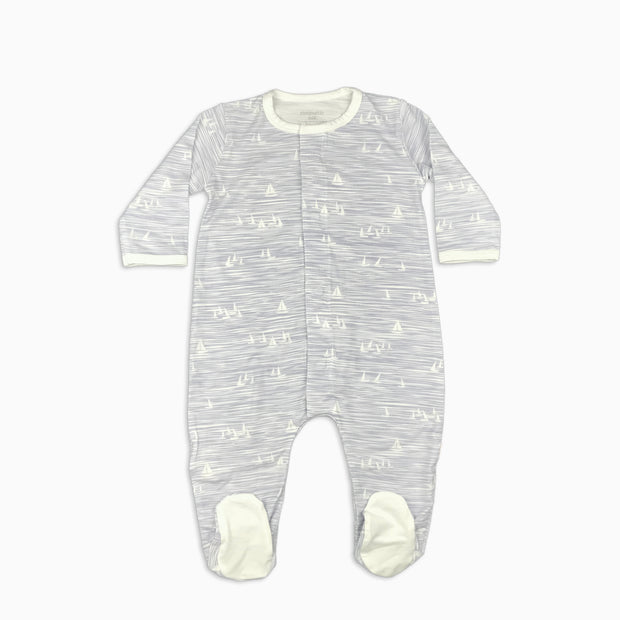 Baby Girl Clothes: sail boat pajamas