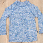 Light Blue Long Sleeved Boy Rash Guard: Baby Girl Clothes