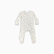 Baby Girl Clothes: grey sheep pajamas