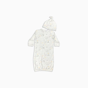 Baby Girl Clothes: full view of layette gown