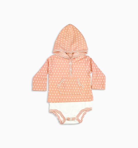 Baby Girl Clothes: star onesie flat lay