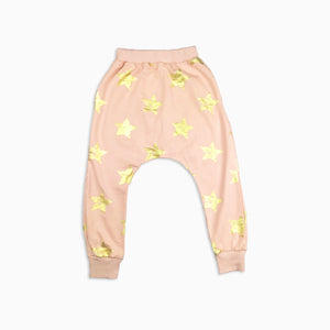 Baby Girl Clothes: gold star joggers
