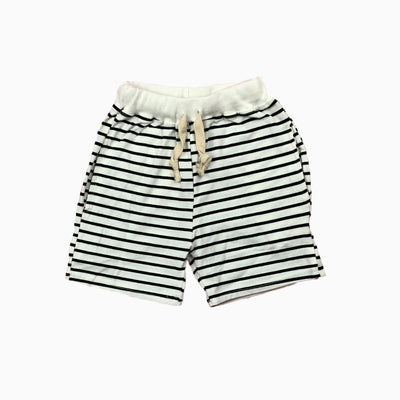 white and black stripe shorts: Baby Girl Clothes