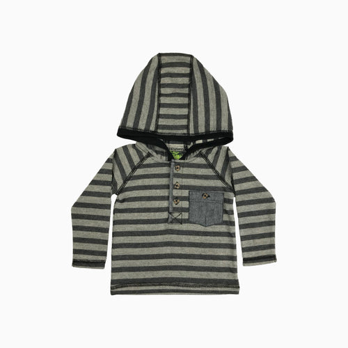 Baby Girl Clothes: striped shirt with one pocket