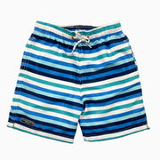 stripe blue and white swim: Baby Girl Clothes