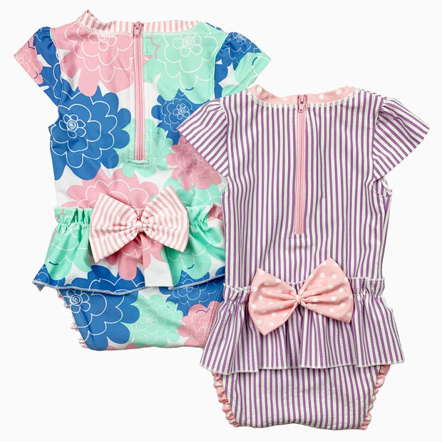 ruffle swimwear: Baby Girl Clothes