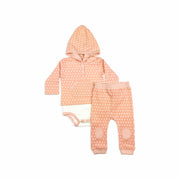Baby Girl Clothes: onesie shirt and matching pants