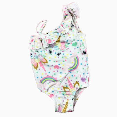 unicorn swimming suit: Baby Girl Clothes