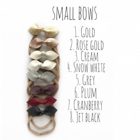 Line of small bows variety of colors: Online Deals Websites
