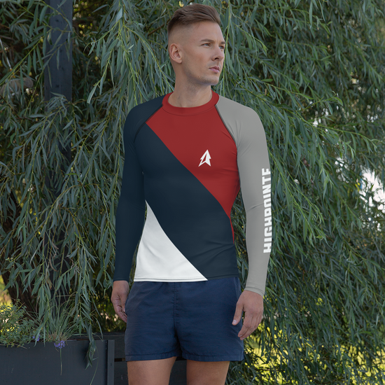 Men's Royal Rash Guard