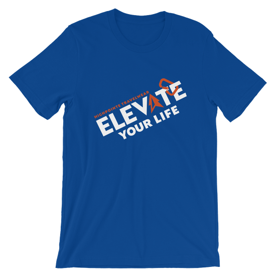 Men's Elevate Your Life Solid T-Shirt