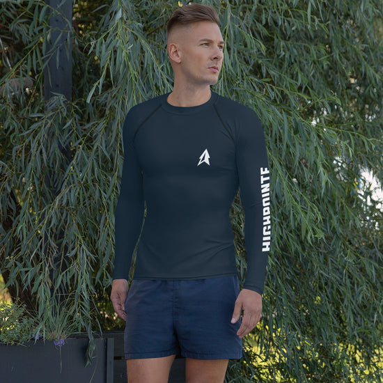 Men's Navy Rash Guard