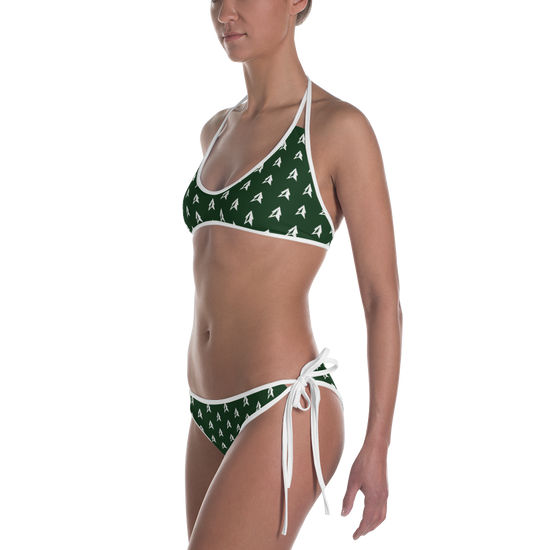 Hunter Green Highpointe Bikini