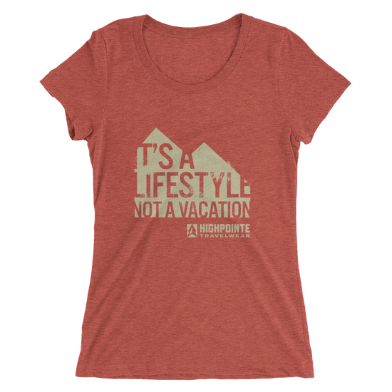 Women's It's A Lifestyle Triblend T-Shirt