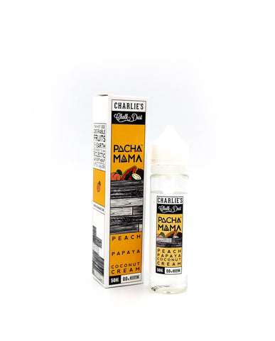 Peach Papaya Coconut Cream by Pacha Mama- 50ml - Vape Tribez