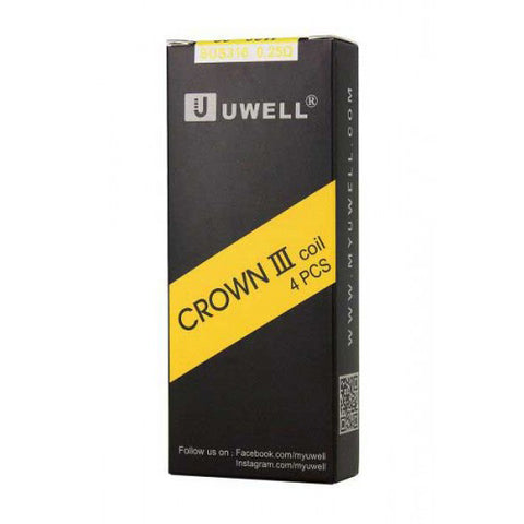 Uwell Crown III 0.25 - 4 PCS