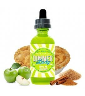 Apple Pie by Dinner Lady's - 60ml - Vape Tribez