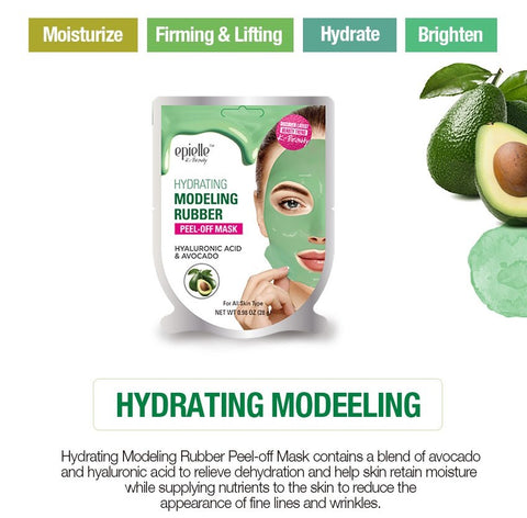 epielle®Hydrating Modeling Rubber Mask, 1ct