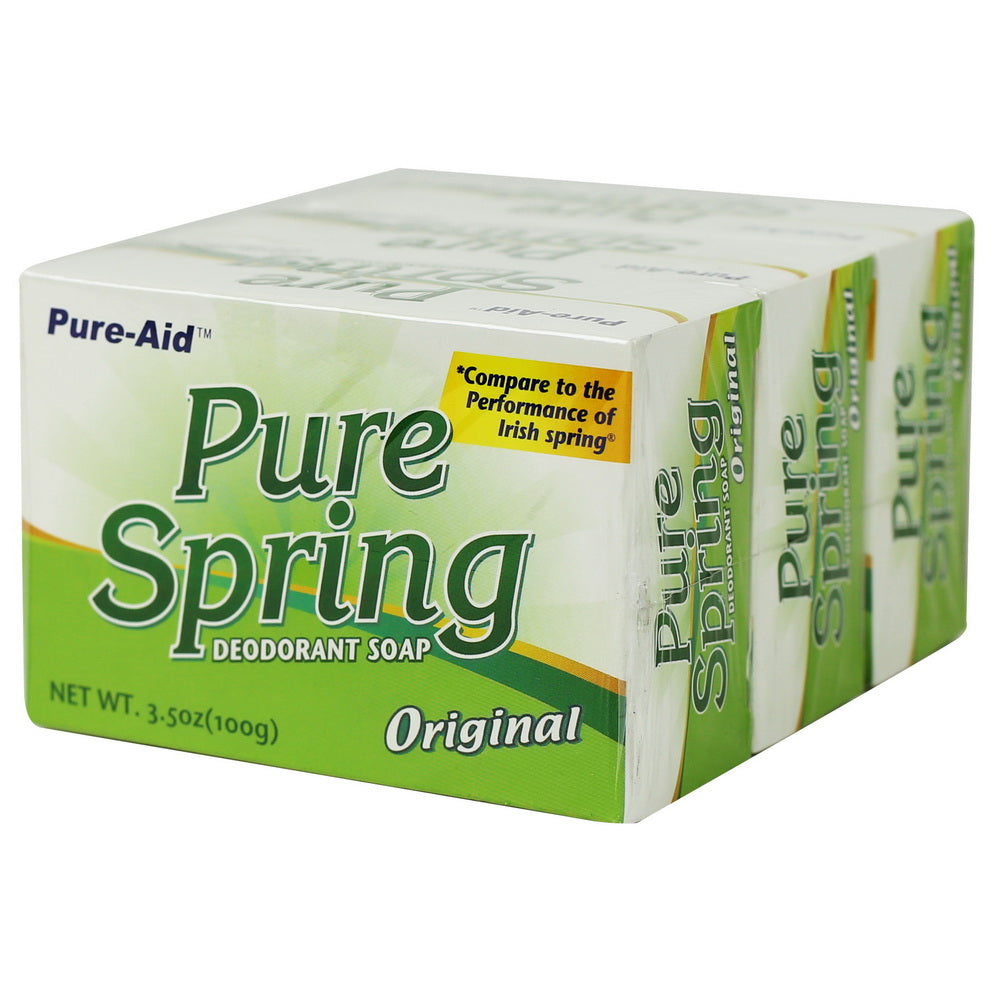 Pure-Aid Pure Spring Original Bar Soap (Compare to Dial)