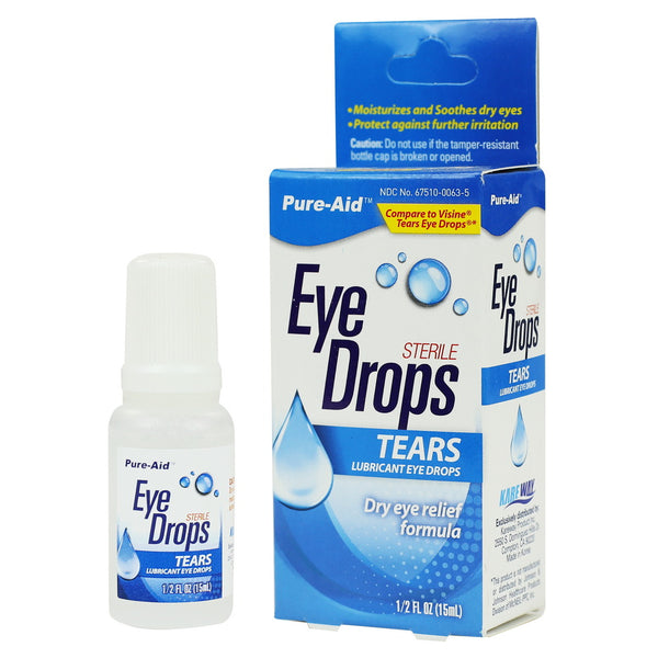 Pure-Aid Tears Eye Drop, 0.5 oz