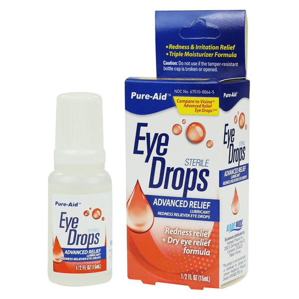Pure-Aid Advanced Relief Eye Drop, 0.5 oz