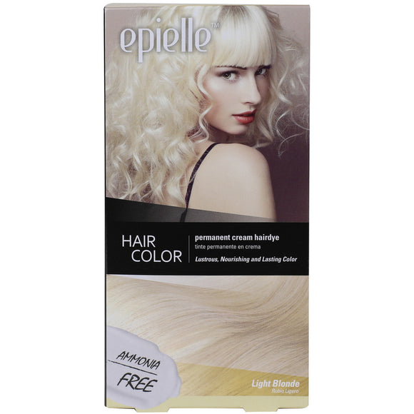 epielle Hair Dye Color for Women - Light Blonde