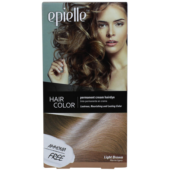 epielle Hair Dye Color for Women - Light Brown