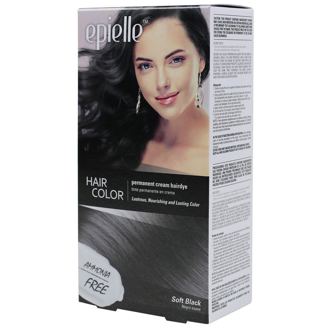 Epielle Hair Color for Women-Soft Black