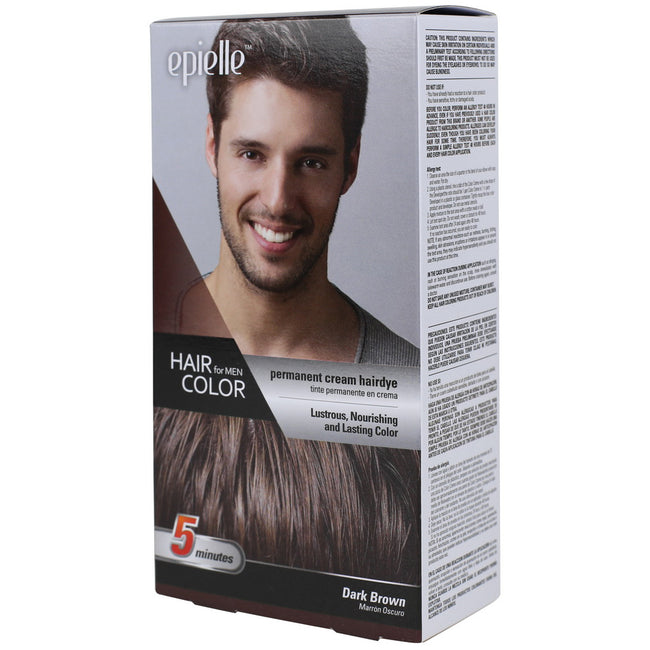 Epielle Hair Color for Men-Dark Brown