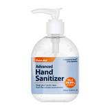 Pure-Aid Advanced Hand Sanitizer with Pump 8.46 fl oz, 1ct