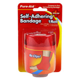 Pure-Aid Self-Adhering Bandage 3in x 2.5yds, 1Roll