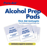 Pure-Aid Alcohol Prep Pads, 40ct