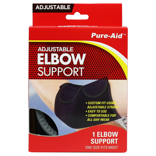 Pure-Aid Adjustable Elbow Support
