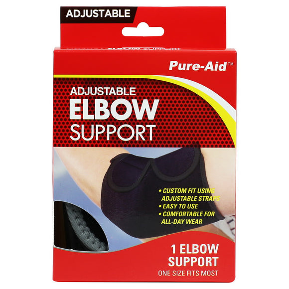 Pure-Aid Adjustable Elbow Support  (Compare to ACE)