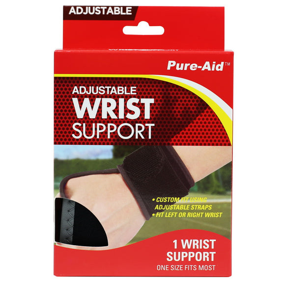 Pure-Aid Adjustable Wrist Support  (Compare to ACE)