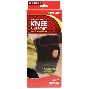 Pure-Aid Adjustable Knee Support  (Compare to ACE)